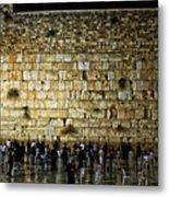 The Wailing Wall - Jerusalem  Metal Print