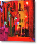 The Walkabouts - Spanish Red Moon Stroll Metal Print