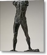 The Walking Man (l'homme Qui Marche) Metal Print