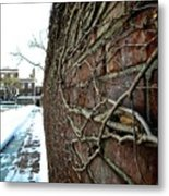 The Wall That Never Ends Metal Print