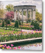 The Walled Garden Metal Print