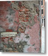 The Walls Of Venice Metal Print