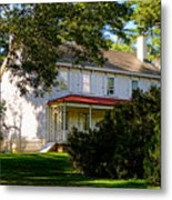 The Waln House Metal Print