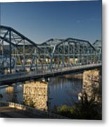 The Walnut St. Bridge Metal Print