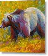 The Wandering One - Grizzly Bear Metal Print