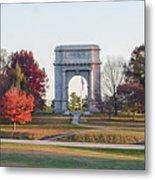 The Washington Memorial At Valley Forge Panorama Metal Print
