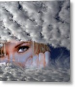 The Watcher Above Metal Print