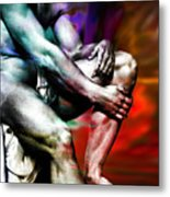 The Watching Man   Metal Print