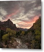 The Watchman Sunset Metal Print