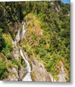 'the Water Of Life' Spring At Doubtful Sound Metal Print