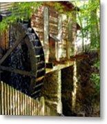 The Water Wheel Metal Print