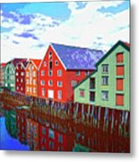 The Waterfront Metal Print