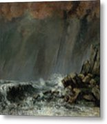 The Waterspout Metal Print
