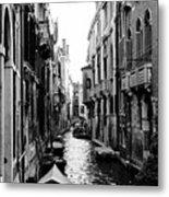 The Waterways Of Venice Metal Print