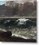 The Wave 1869 1 Metal Print