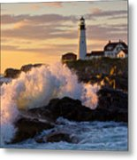 The Wave Metal Print by Benjamin Williamson