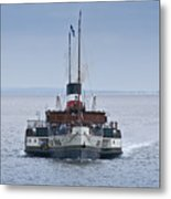 The Waverley Approaches Metal Print