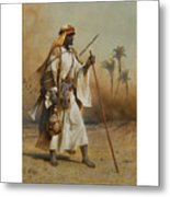 The Way From Sinai To Cairo Metal Print