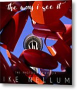 The Way I See It Coffee Table Book Cover Metal Print