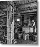 The Way We Were - The Blacksmith 2 Bw Metal Print
