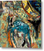 The Weary Donkey Metal Print