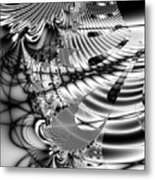 The Web We Weave Metal Print by Wingsdomain Art and Photography