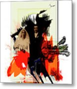 The Wedding Picture Metal Print