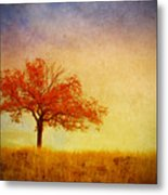 The Wednesday Tree Metal Print