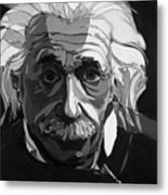 The Weight Of Genius Metal Print by John Gibbs