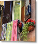 The Wet Clothes Metal Print