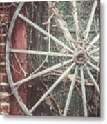 The Wheel And The Ivy Metal Print