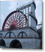 The Wheel Of Laxey, Isle Of Man Metal Print