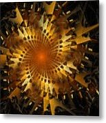 The Wheels Of Time Metal Print