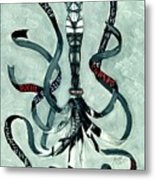 The Whip Metal Print