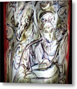 The Whisperer Metal Print