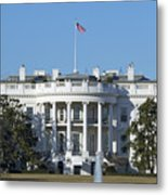 The White House - 1600 Pennsylvania Avenue Washington Dc Metal Print by Brendan Reals