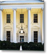 The White House Metal Print by John Greim