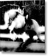 The White Knight Metal Print