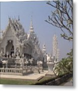 The White Temple Metal Print