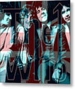 The Who Poster  Metal Print
