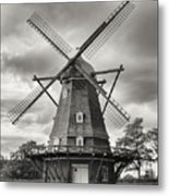 The Windmill At Kastellet Metal Print