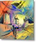 The Windmills Del Quixote 02 Metal Print