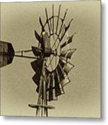 The Windmills Of My Mind Metal Print