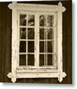 The Window 2 Metal Print