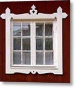 The Window 3 Metal Print