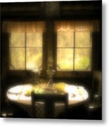 The Window At Breakfast Metal Print