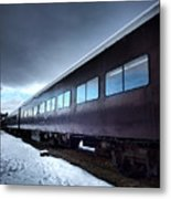 The Windows Of The Train Metal Print