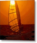 The Windsurfer Metal Print