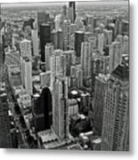 the Windy City Metal Print