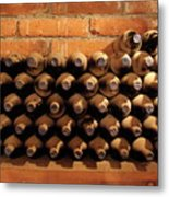 The Wine Cellar II Metal Print